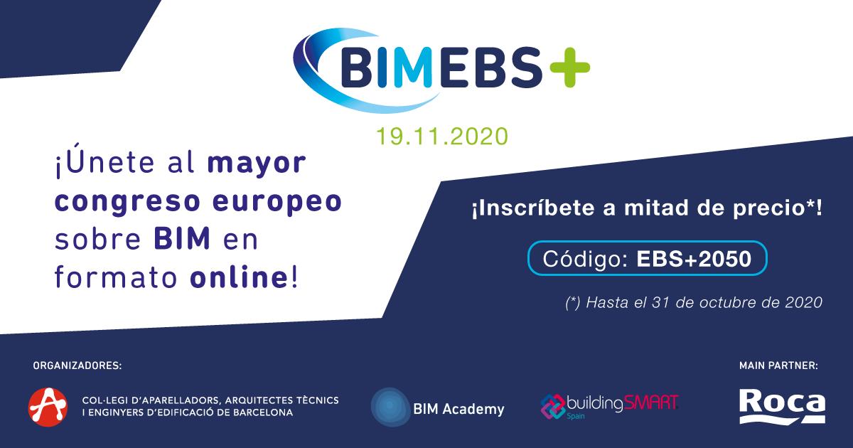 CONGRESO EUROPEO SOBRE BIMEBS+  EN FORMATO ONLINE 19 noviembre 2020